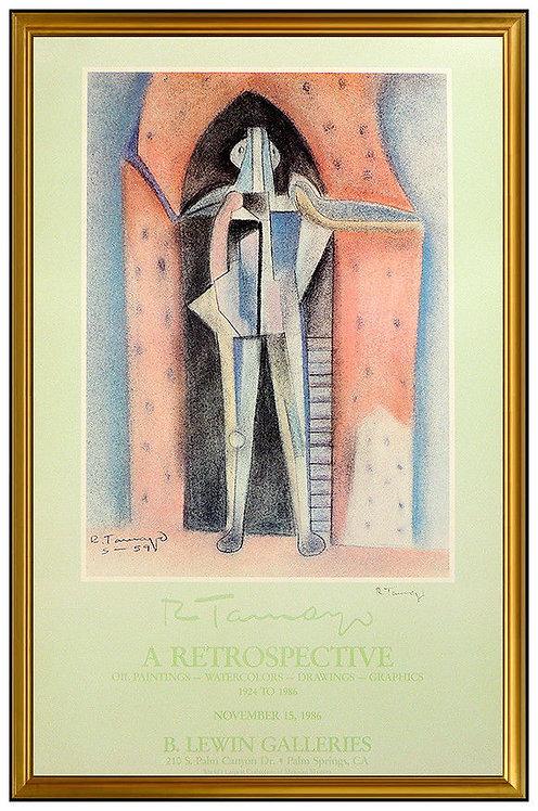 """""""A RETROSPECTIVE"""" by Rufino Tamayo"""