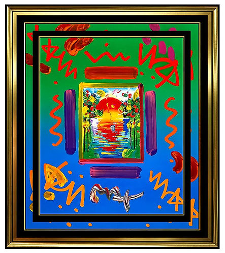"""""""Better World"""" by Peter Max"""