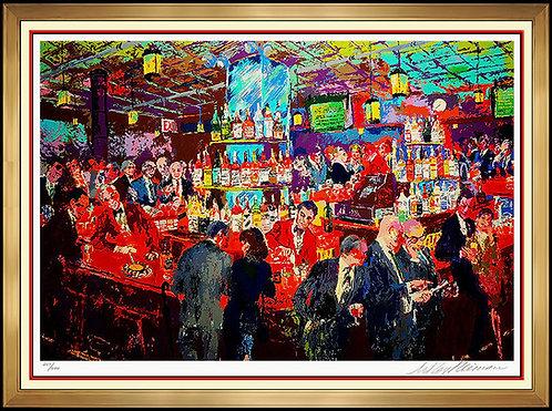 """Harry's Wall Street Bar"" by Leroy Neiman"