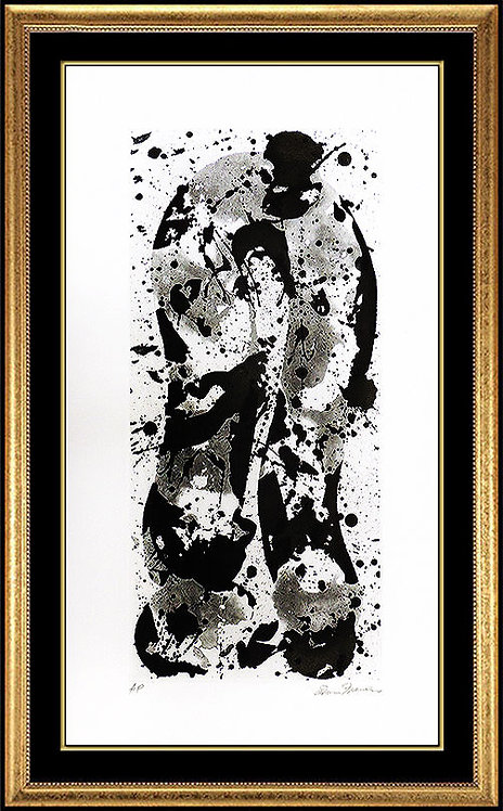 """""""Up and Down in Winter"""" by Sam Francis"""
