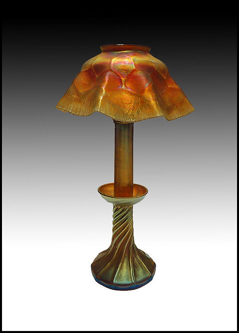 """""""Candle Lamp"""" by Louis Comfort Tiffany"""