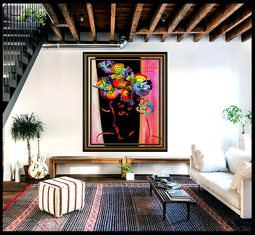 """""""The Original Roseville Profile"""" by Peter Max"""
