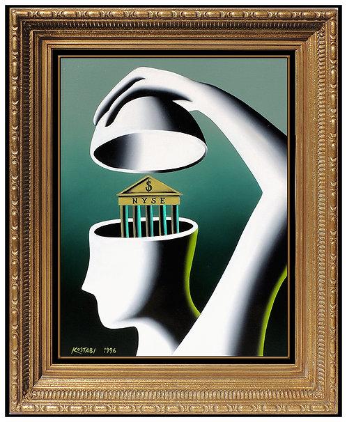 """Inner Sanctum"" by Mark Kostabi"