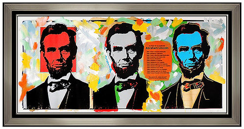 """Original Lincolns"" by Steve Kaufman"