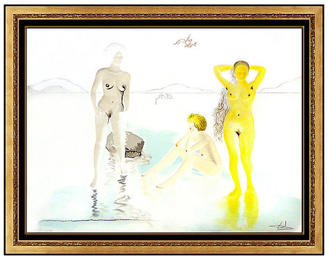 """Three Grace of The Cove D'or"" by Salvador Dali"