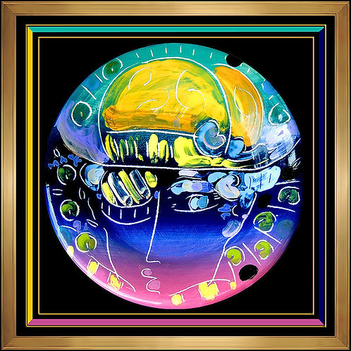 """Original Zero Megalopolis"" by Peter Max"
