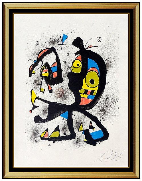 """Obra Grafica"" by Joan Miro"