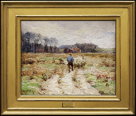 """""""Pleasant Pastures"""" by Mabel May Woodward"""