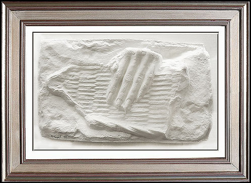 """""""Beauty and Strength"""" by George Segal"""