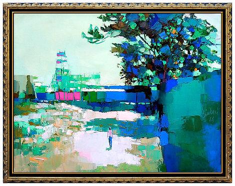 """The Original Beach Walk"" by Nicola Simbari"