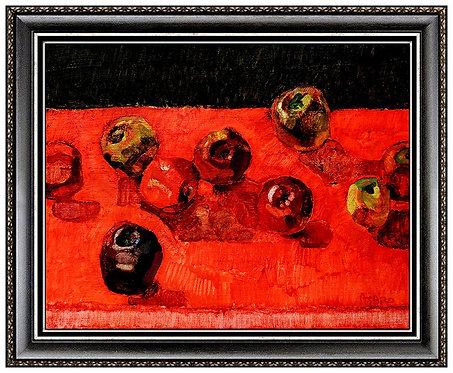 """Table Full of Apples"" by John Asaro"