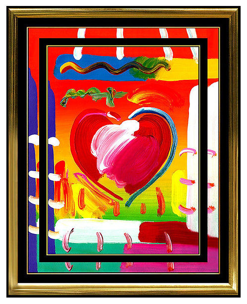"""Original Heart"" by Peter Max"