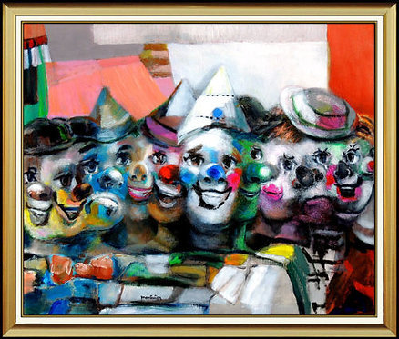 """""""Carnival of Clowns"""" by Jose Montanes"""