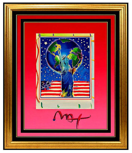 """""""Original Peace on Earth 2003"""" by Peter Max"""