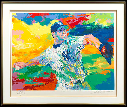 """The Rocket - Roger Clemens"" by LeRoy Neiman"