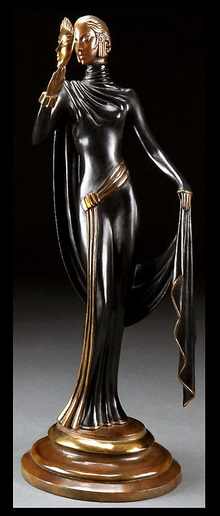 """La Masque - Sculpture"" by Erte"