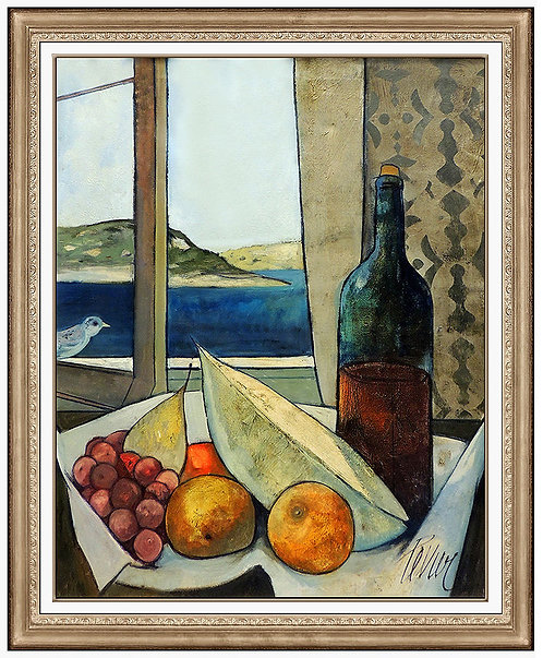 """Original Vino et Fruits"" by Charles Levier"