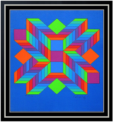"""Helios II"" by Victor Vasarely"