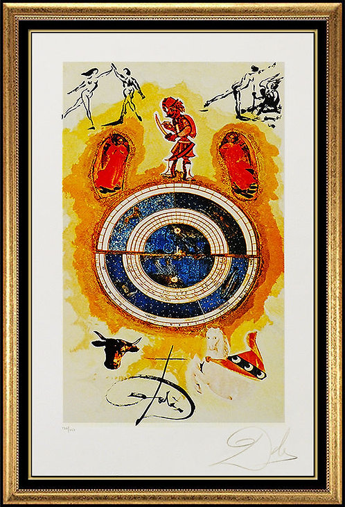 """""""Wheel Of Fortune"""" by Salvador Dali"""