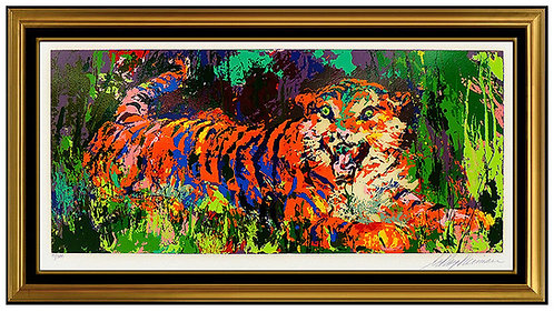 """Young Tiger"" by LeRoy Neiman"