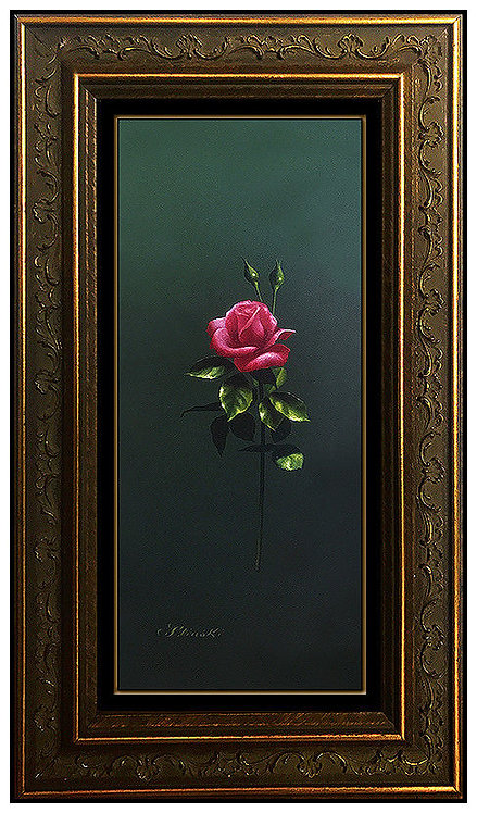 """Original Life with Roses"" by Gerald Stinski"