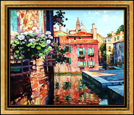 """Canal Voyage"" by Howard Behrens"