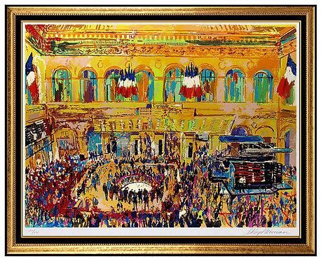 """""""Paris Bourse"""" by Leroy Neiman"""