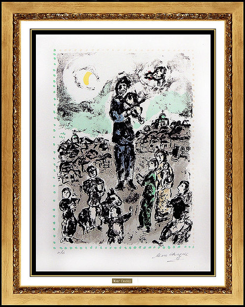 """Concert in the Square"" by Marc Chagall"