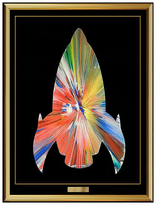 """Original Rocket Spin Painting"" by Damien Hirst"