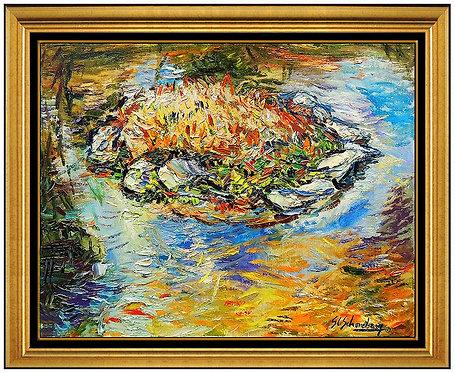 """Original Beverly Pond"" by Sheldon SC Schoneberg"