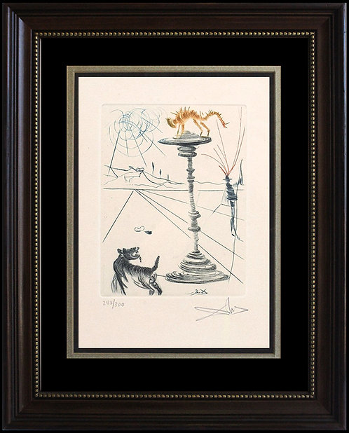 """""""The Taming of the Shrew"""" by Salvador Dali"""