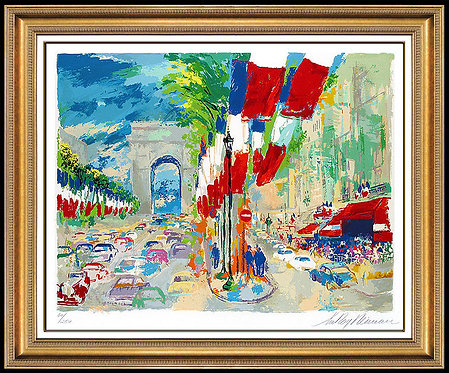 """July 14th"" by LeRoy Neiman"