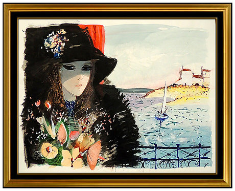 """""""Original Glamour by the Sea"""" by Charles Levier"""