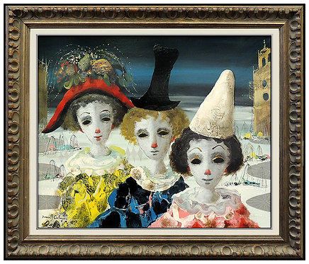 """The Three Original Matrons"" by Jean Calogero"