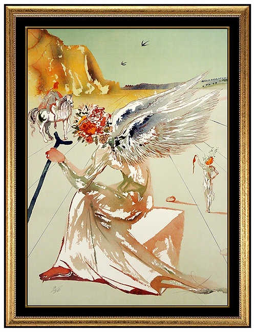 """""""Helen of Troy"""" by Salvador Dali"""