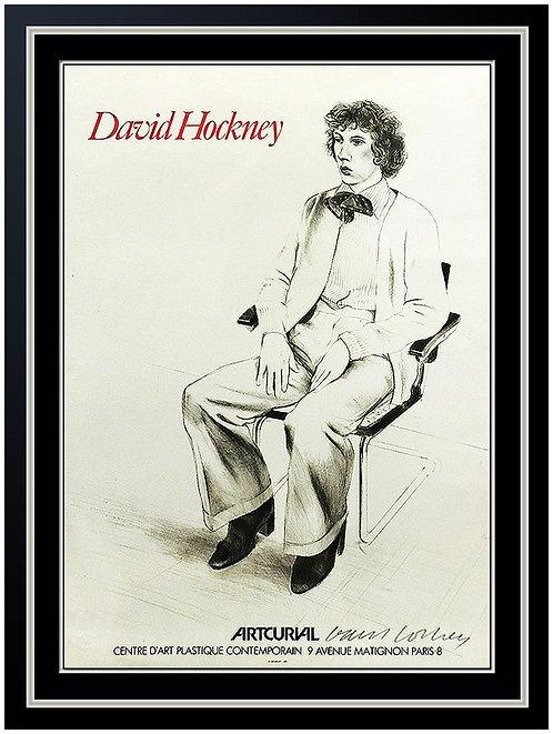 """""""Artcurial"""" by David Hockney"""