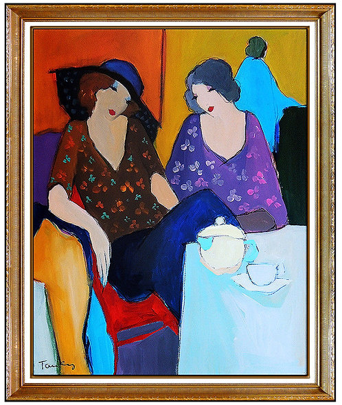 """Original Ladies' Luncheon"" by Itzchak Tarkay"