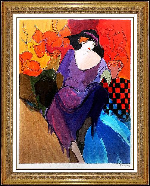 """""""Femme Fatale"""" by Itzchak Tarkay"""