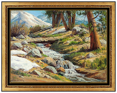 """Near Glacier Lodge, High Sierras"" by Paul Grimm"