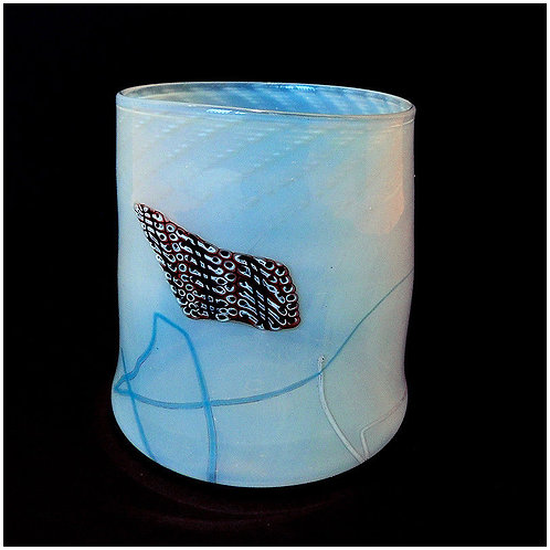 """One-of-a-kind Blanket Cylinder"" by Dale Chihuly"