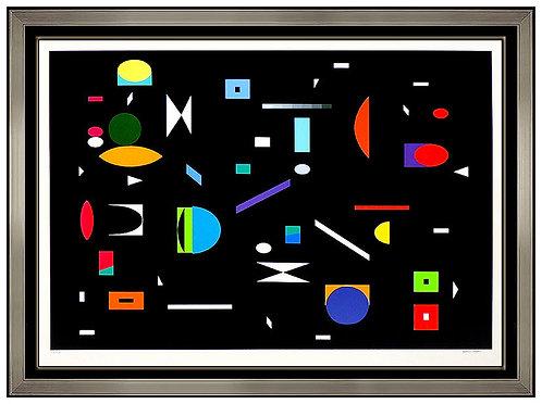 """Puzzle"" by Yaacov Agam"