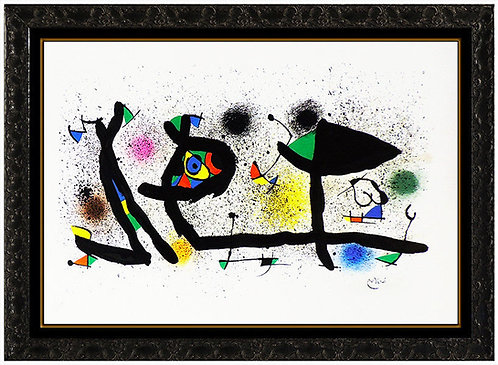 """""""Sculptures"""" by Joan Miro"""