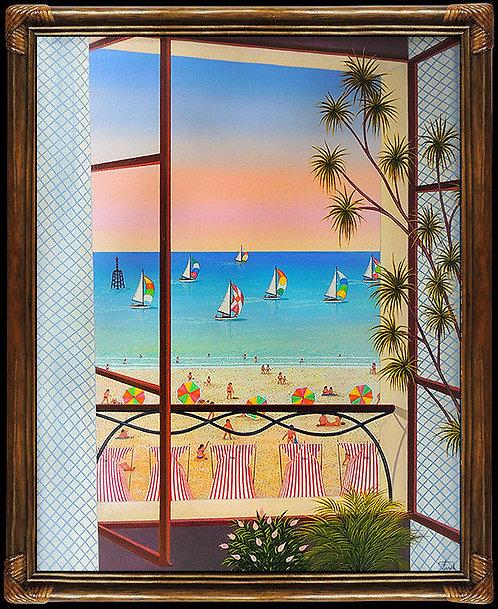 """""""Fenetre Sur Plage"""" by Fanch Ledan"""