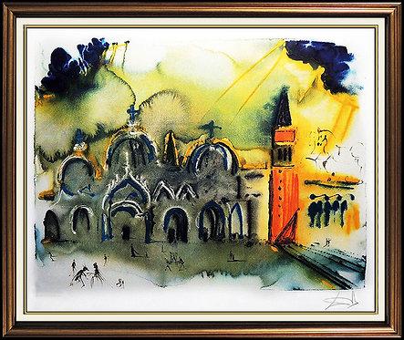 """Homage to Venice"" by Salvador Dali"