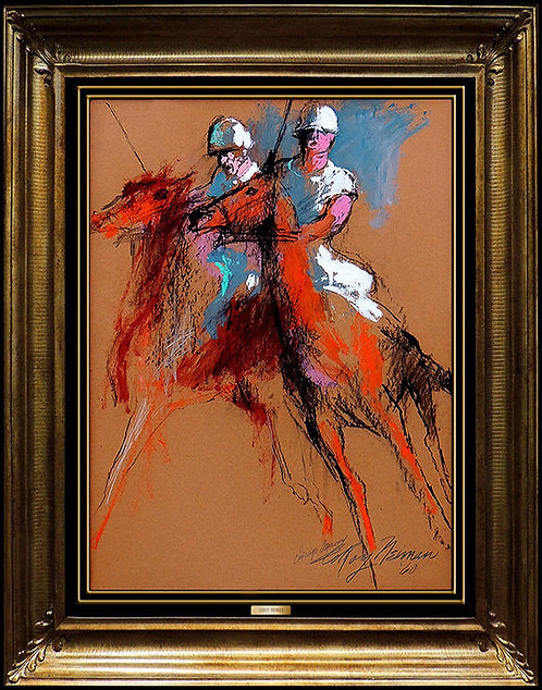 """Polo at the Armory"" by Leroy Neiman"