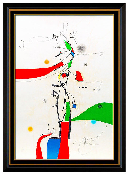 """Demi-Mondaine a sa Fenentre"" by Joan Miro"