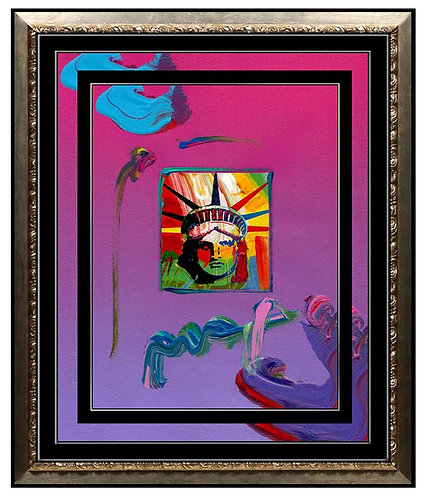 """Liberty Head"" by Peter Max"