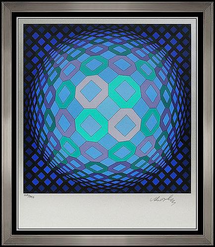 """XII Okta-Pos"" by Victor Vasarely"