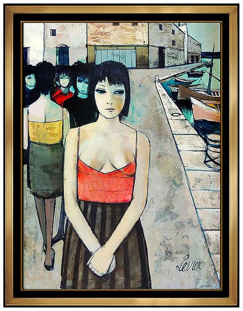 """""""Original Femmes dans un Port"""" by Charles Levier"""