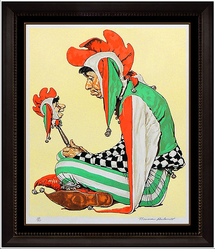"""""""Jester"""" by Norman Rockwell"""